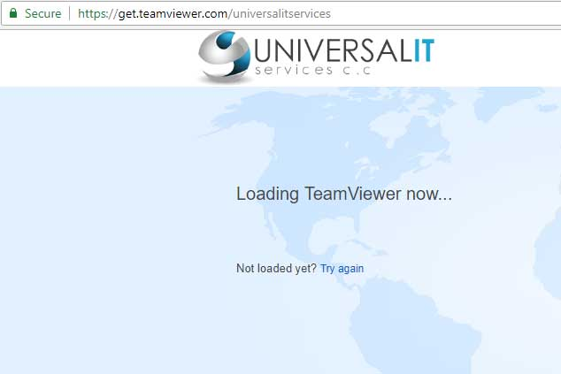 New Client Quick Support - TeamViewer | Universal IT Services